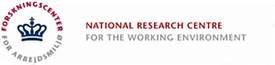 National Research for the Working Environment (NRCWE)